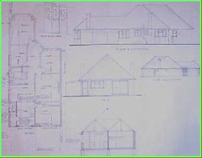 Dwg Building Plans Walton On Thames Building Regulations Town Planning Drawing