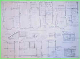 Two storey side extension dwg building plans Staines